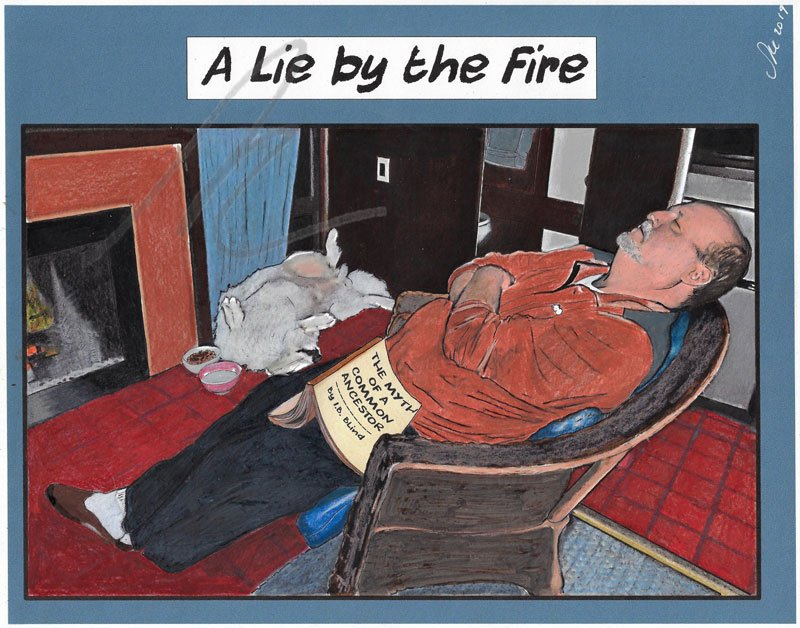 A Lie by the Fire