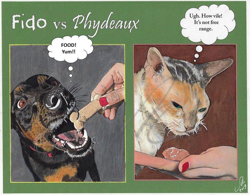 Fido Meets Phydeaux