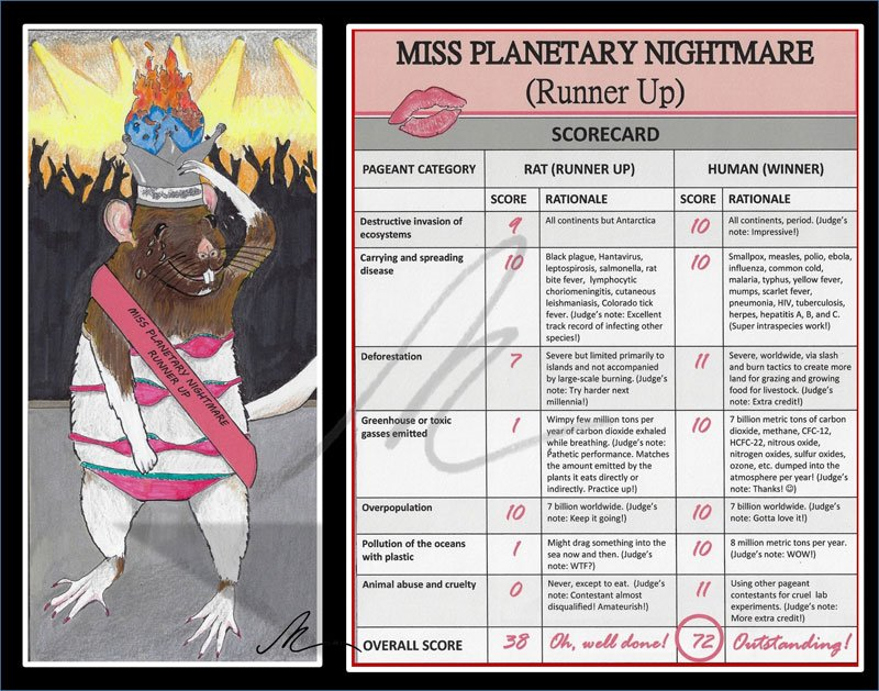 Miss Planetary Nightmare Runner Up