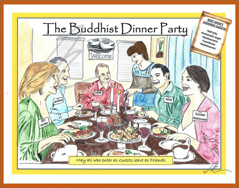 The Buddhist Dinner Party