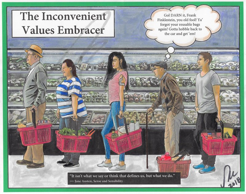The Inconvenient Values Embracer