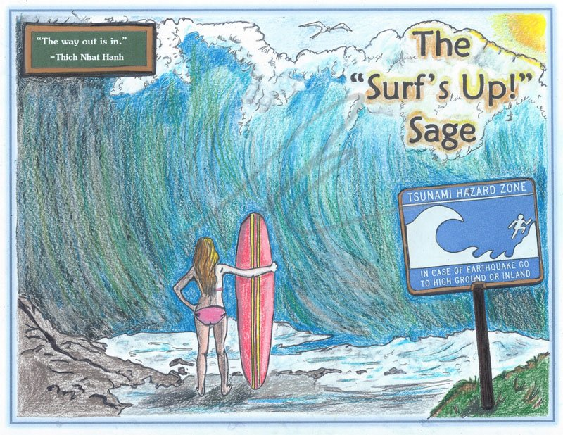 The Surf's Up Sage