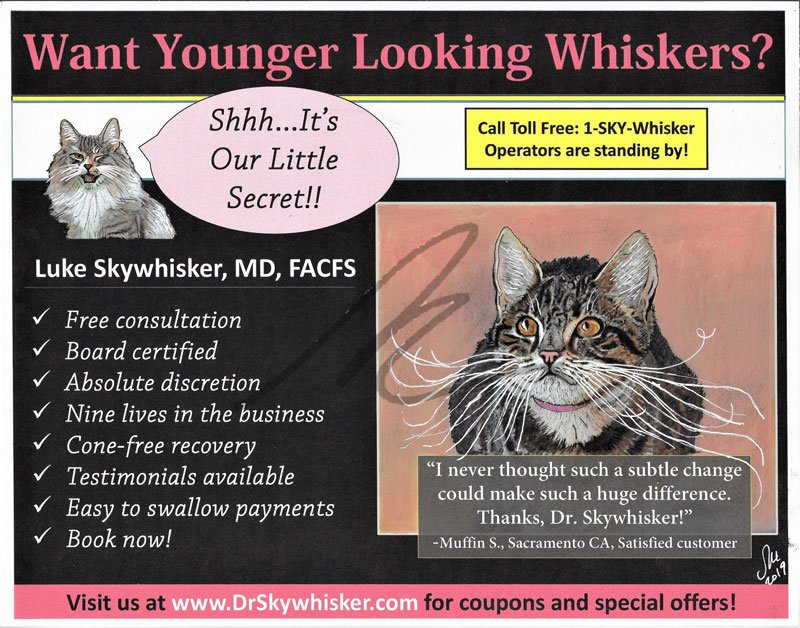 Want Younger Looking Whiskers