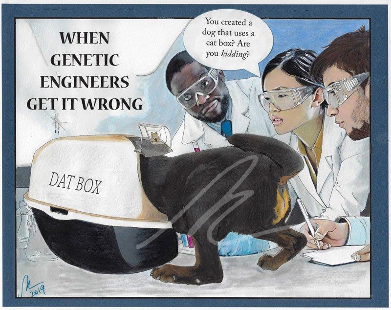 When Genetic Engineers Get it Wrong