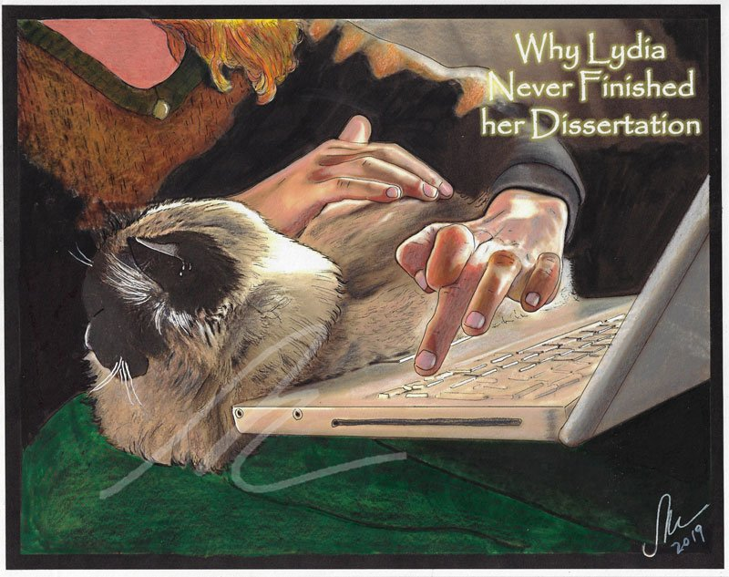 Why Lydia Never Finished her Dissertation